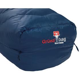Grüezi-Bag Biopod DownWool Ice 185 Slaapzak, night blue